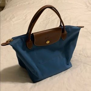 Longchamp Small Le Piliage top handle never worn